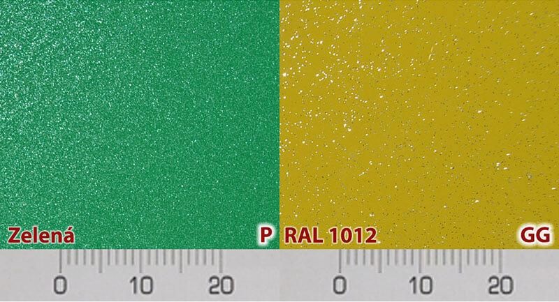 hliníkové dvere evolution farby a farebné vzory