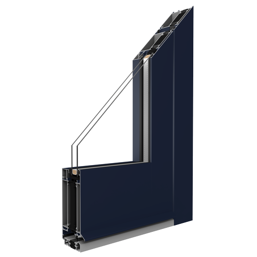 hliníkový rám MB-70HI pre hliníkové dvere a sklenené dvere